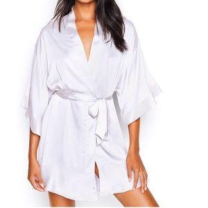 BRAND NEW  Victoria's Secret Bride Satin Robe